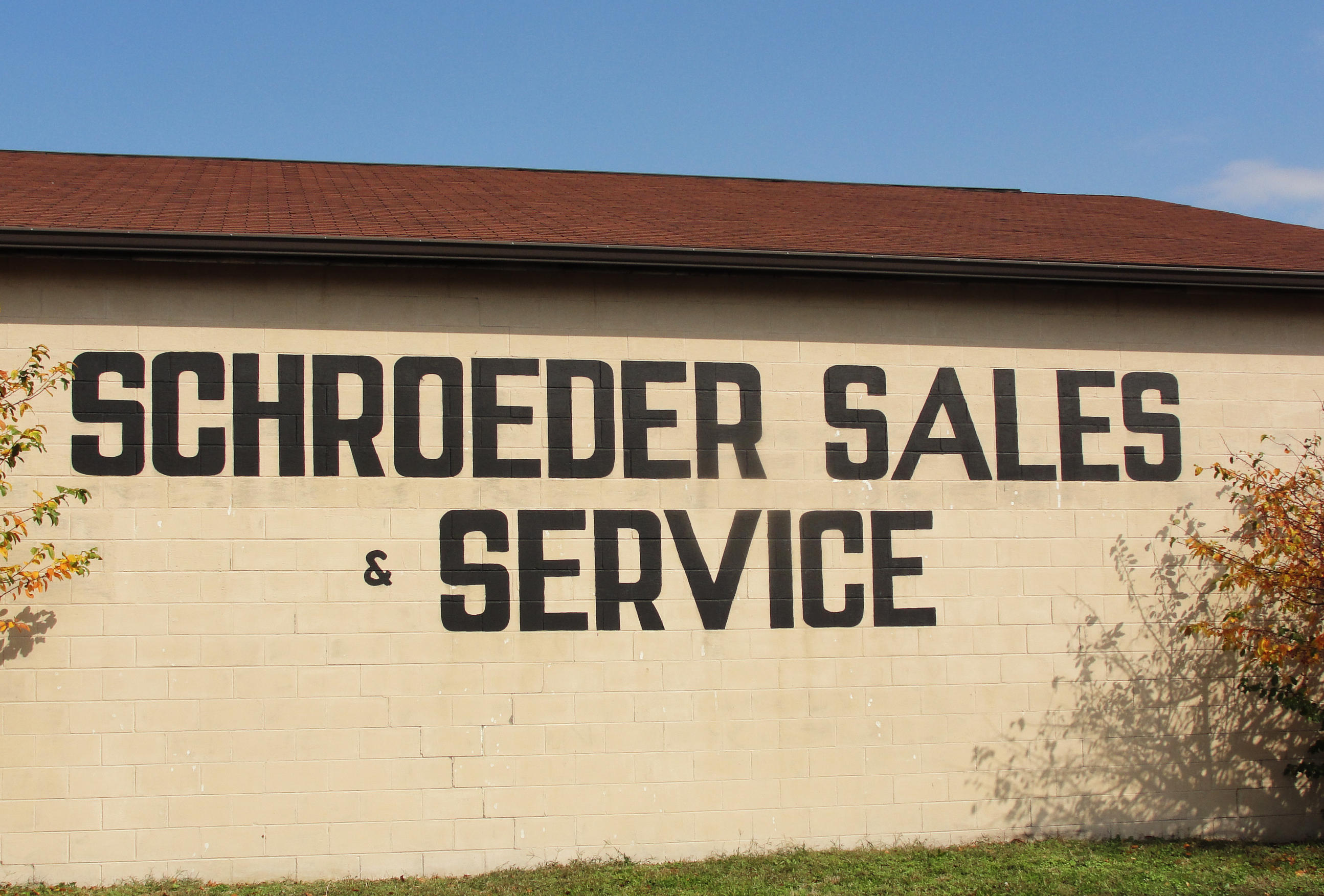 Schroeder Sales and Service workshop and mechanics